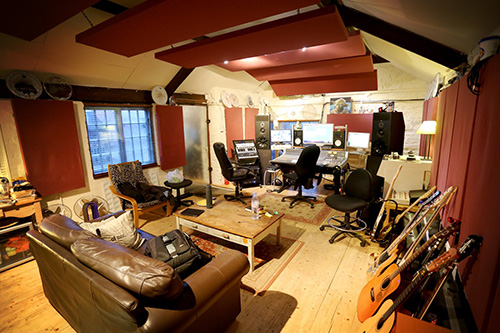 Edge Studio interior