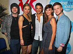 NKTA pictured with Peter Andre